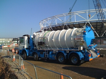 Construction Waste Collection Services For Liquid Waste