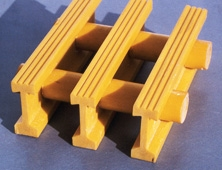 Pultruded Industrial GRP Grating