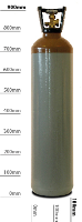 20L Refillable Helium Balloon Gas Cylinder in East Sussex