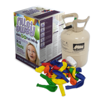 Fill'N'Away Disposable helium balloon gas cylinder