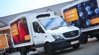 Home Delivery Truck Changeable Banners