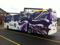 Bus Advertising Wrapping Services