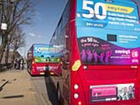 Bus Route Branding Self Adhesive Graphics