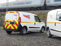 Reflective Markings For Operational Vehicles