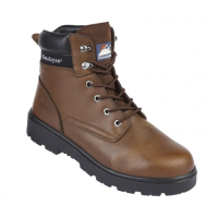 Himalayan Leather Safety Ankle Boots
