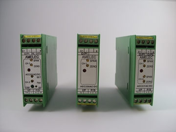 AC/DC Dual Channel Thermocouple Transmitter