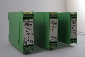 AC/DC Dual Channel Thermocouple Trip Transmitter