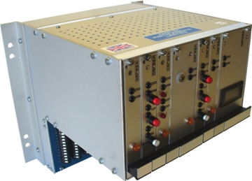"""AC Voltage or Current Transmitter Individual Plug-in Modules for 4U High 19"""" Rack Mounted Instrumentation"""
