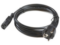 MicroConnect Power Cord CEE 7/7 - C13 10m Black, PE0204100 - eet01