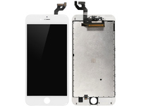 MicroSpareparts Mobile LCD for iPhone 6s+ White Full Assembly MOBX-DFA-IPO6SP-LCD-W - eet01