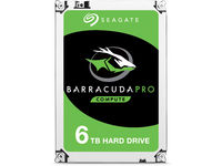 Seagate Internal HDD BarraCuda Pro 3.5'' 6TB SATA3 7200RPM 128MB ST6000DM004 - eet01