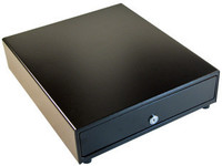 APG Cash Drawer Vasario Slide-Out Cash Drawer Black, 412x 415x102, VB470-BL1616-B5-E2-C1 - eet01