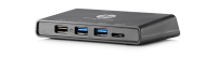 Hp Hp 3001pr Usb 3.0 Port Replicator - Docking Station - Usb - Vga  Hdmi - Gige - Gb - For Elitebook 840r G4; Probook 430 G6  440 G6; Probook X360; Spectre X360 F3s42aa#abu - xep01