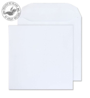 5701 Blake Purely Everyday White Self Seal Wallet 220X220mm 100Gm2 Pack 250 Code 5701 3P- 5701