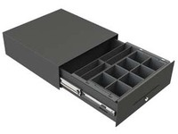 APG Cash Drawer STD2000, 8/4, Black  STD2000-0257 - eet01