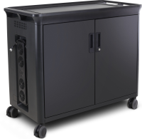 "Hp Hp 30 Managed Charging Cart V2 - Cart Charge And Management For 30 Notebooks (open Architecture) - Lockable - Hp Black - Screen Size: 10.1""-15.6"" - For Elite X2; Elitebook X360; Mobile Thin Client Mt45; Probook 455r G6; Zbook 15 G6 T9e85aa#abb - x"