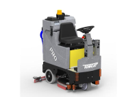 Large Ride On Battery Operated Floor Scrubber Hire In Langholm