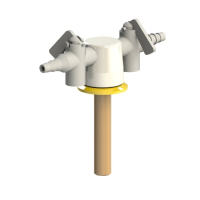 Brownall Two Way Straight Drop Lever Gas Tap - OUT OF STOCK