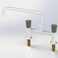 Mixer Lab Tap with Swivel Swan neck