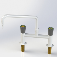 Mixer Lab Tap with Swivel Swanneck