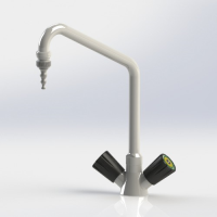 Monobloc Mixer Tap with Swanneck