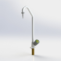 Fixed Swanneck Lab Tap ( Right Hand ) CW