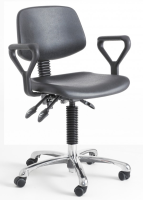 Laboratory Deluxe Polyurethane Chair with optional Armrests