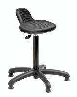 Laboratory Posture Stool with small back support