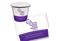 Collection Bucket Label Curved
