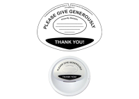 Collection Bucket Lid Label