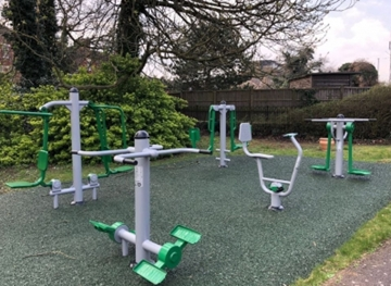 Supplier of Outside Gym Equipment for Hospitals