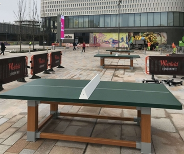 Recreational Fitness Equipment for Shopping Centres
