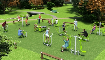 Affordable Outdoor Gym Equipment