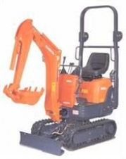 0.8 Tonne Micro Excavator In The New Forest