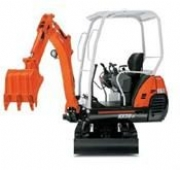 1.5 Tonne Mini Excavator In Middle Wallop