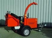 Towable Diesel Chipper In Pitton