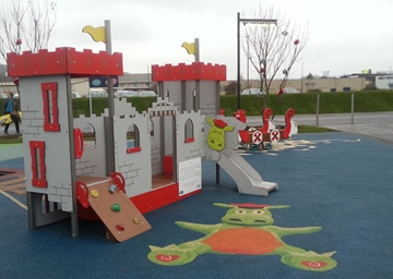 Themed Playgrounds for Commercial Use