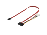 PI17147 MicroConnect SATA data + power adaptor  - eet01