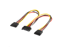 PI010813 MicroConnect PC Y-Power supply cable SATA jack - 2x SATA plug - eet01