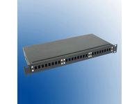 "APP01-24-SC MicroConnect 19"" swing-out type, SC 24 port 3 parts front panel - eet01"