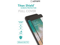 ESTUFF Apple iPhone 6/6S/7/8 Full Bla Titan Shield Screen Protector ES501110 - eet01