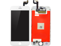 MicroSpareparts Mobile LCD for iPhone 6s White Full Assembly MOBX-DFA-IPO6S-LCD-W - eet01