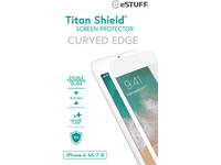 ESTUFF Apple iPhone 6/6S/7/8 Curved W Titan Shield Screen Protector ES501125 - eet01