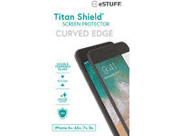 ESTUFF Apple iPhone 6+/6S+/7+/8+ Cu B Titan Shield Screen Protector ES501220 - eet01