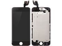 MicroSpareparts Mobile LCD for iPhone 6+ Black Full Assembly MOBX-DFA-IPO6P-LCD-B - eet01