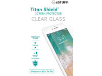 ESTUFF Apple iPhone 6+/6S+/7+/8+ Clea Titan Shield Screen Protector ES501200 - eet01