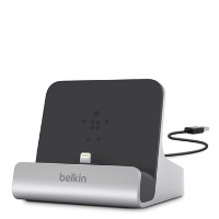 Belkin 8pin Lightning Dock For Ipad/iphone/ipod - Built In Usb Cable F8j088bt - xep01