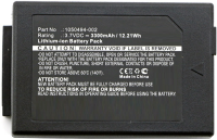 MicroBattery Battery for Teklogix Scanner 12Wh Li-ion 3.7V 3300mAh MBXPOS-BA0322 - eet01