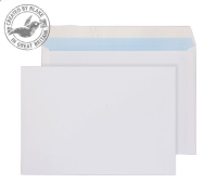 23707 Blake Purely Everyday White Peel & Seal Wallet 162X229mm 100Gm2 Pack 500 Code 23707 3P- 23707