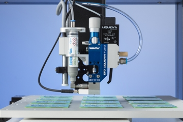 Solder Paste Jetting System  Provides Fast, Repeatable Non-Contact Dispensing